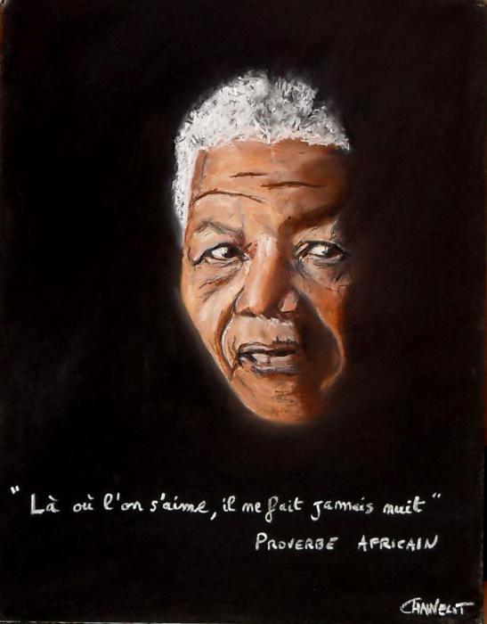 Nelson Mandela por maximuslevrai